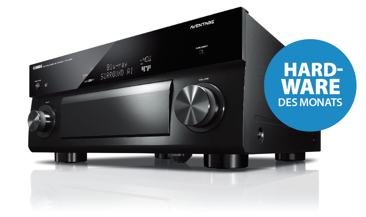 YAMAHA AV-Reviever mit Surround: AI